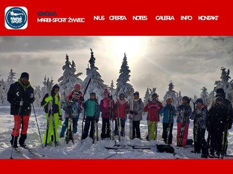 Marbi-Sport Nauka: narty i p艂ywanie