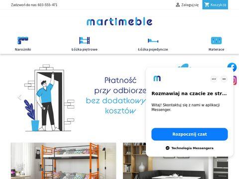 Marti Meble - 艂贸偶ka pi臋trowe dla dzieci