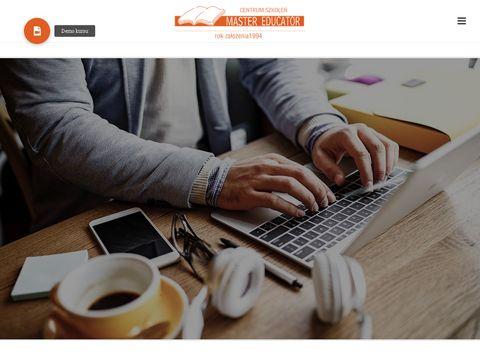 Kurs na certyfikat kompetencji zawodowych - Mastereducator