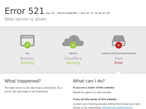 Serwis maszyn wytrzymałościowych - maszyny-wytrzymalosciowe.pl