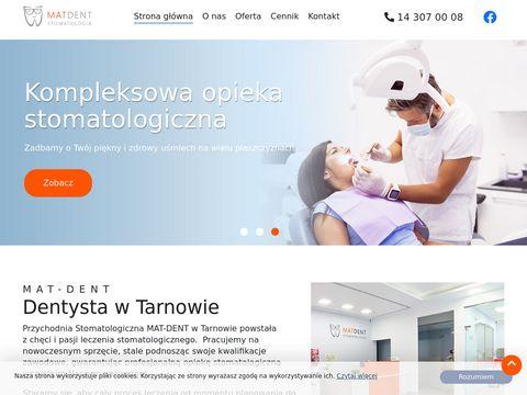 Dentysta Tarn贸w Mat-Dent