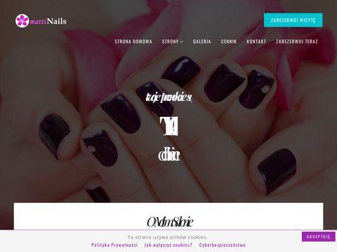 Matti Nails - Salon Manicure Szczecin