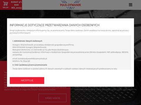 Max-Dywanik - Producent dywaników samochodowych