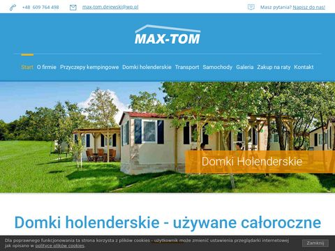 Domki holenderskie - Max-Tom