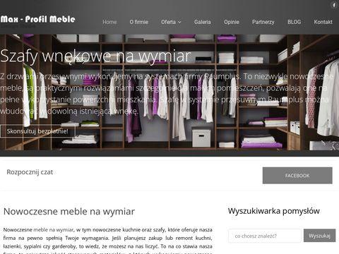 Maxmeble.com - meble kuchenne na wymiar