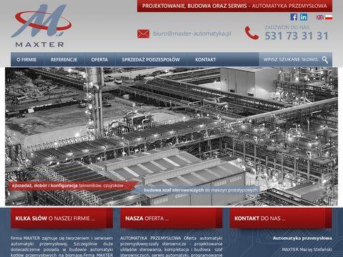 Automatyka przemysłowa - MAXTER