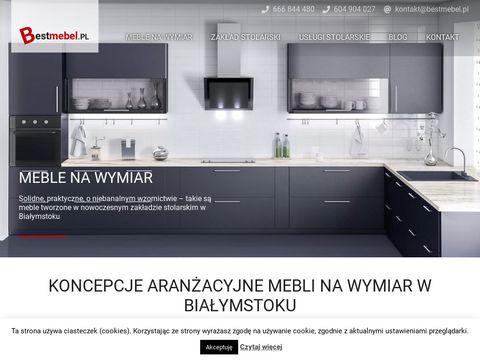 Meble na wymiar Poznań - usługi stolarskie