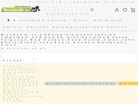 Mechanik-sc.pl Części do sieczkarni