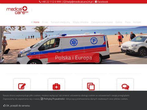 Medicalcare24: transport medyczny Warszawa