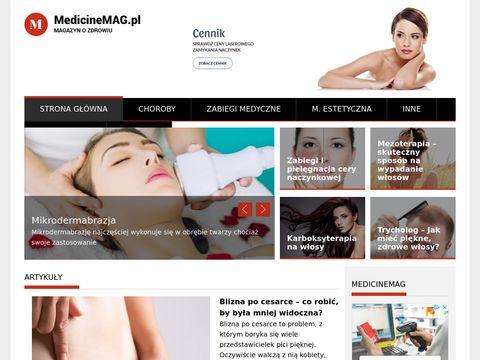 Portal medyczny MedicineMAG
