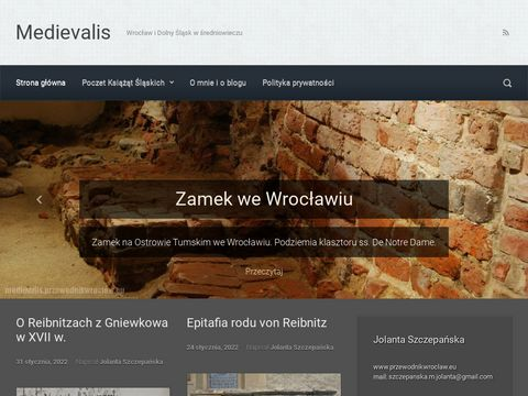 Medievalis - Wroc艂aw i Dolny 艢l膮sk w 艣redniowieczu