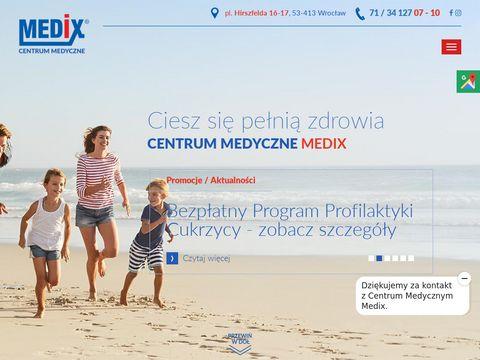 Medix. Centrum medyczne laryngolog wrocław