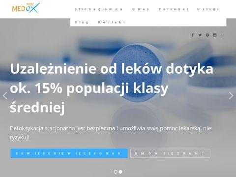 Uzale偶nienie od lek贸w - medox-lekomania.pl