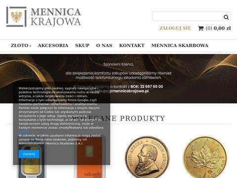 MennicaKrajowa.pl - inwestowanie w numizmatykÄ™