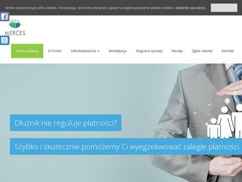 Pomoc w uzyskaniu odszkodowania - Merces z Poznania