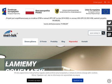 MET-LAK producent szafek metalowych
