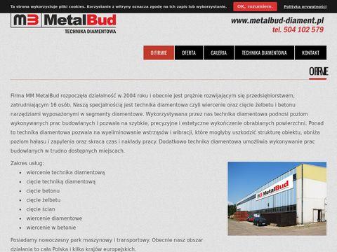 Cięcie żelbetu - MM MetalBud