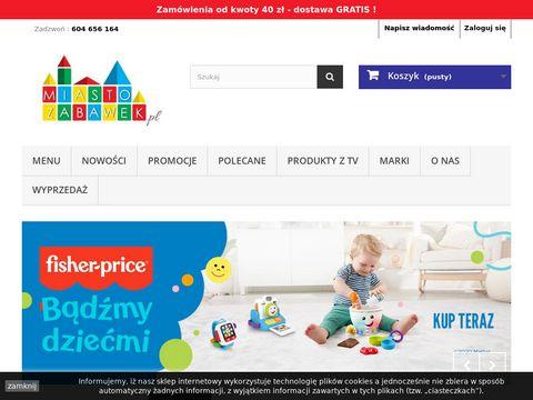 Zabawki i artykuły dla dzieci   Miasto zabawek