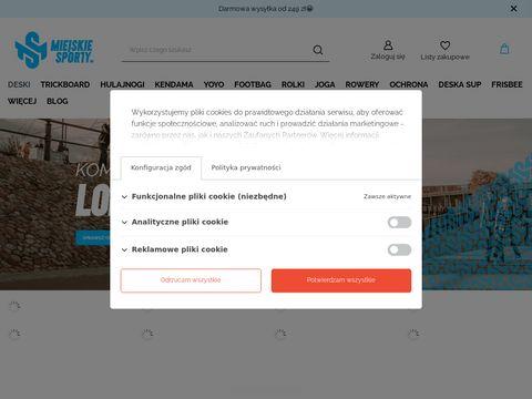 MiejskieSporty.pl - sklep z shortboardami