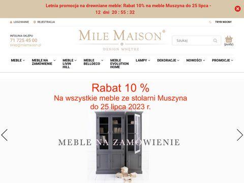 MileMaison.pl - Meble prowansalskie, skandynawska ceramika i dekoracje wn臋trz