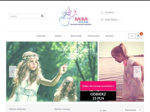 Sklep internetowy z zabawkami - Mimi Pozna艅