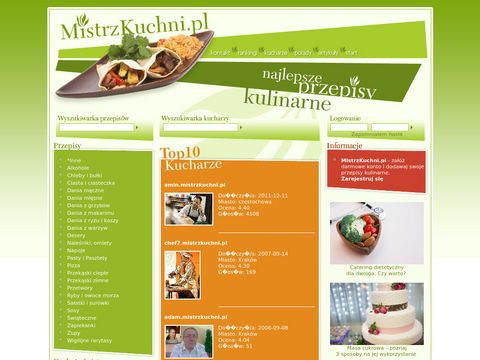 MistrzKuchni.pl - wszystko co najlepsze