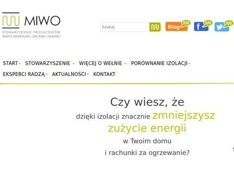 MIWO - Stowarzyszenie Producentów Wełny Mineralnej i Szklanej
