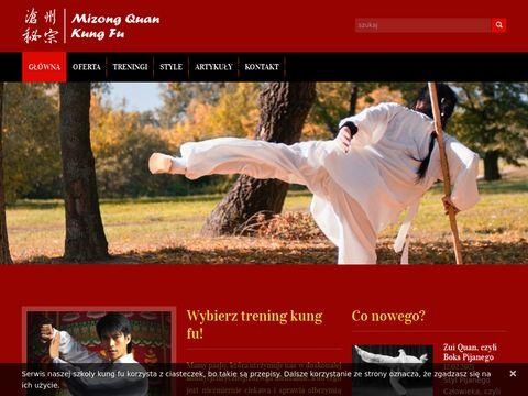 Mizong.pl - wrocławska szkoła kung fu