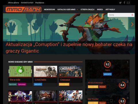Mmorank.pl - lista gier online, MMO, MMORPG