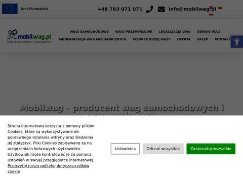 Mobilwag.pl - wagi przemysłowe