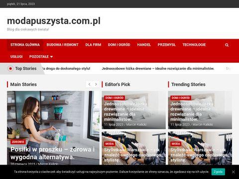 Modapuszysta.com.pl - spodnie damskie XXL