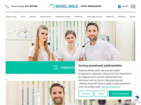 MODEL SMILE Dentysta Rzesz贸w, Warszawa