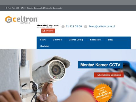 Monitoring Wrocław - Montaż Kamer CCTV