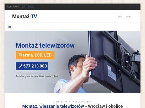 Montaż Telewizorów
