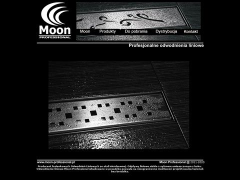 Odwodnienia liniowe Moon Professional