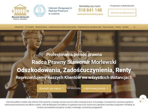 Adwokat, Radca Prawny, Odszkodowania