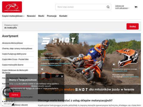 Motoargo.pl - części do motocykli, skuterów i quadów
