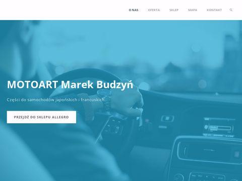 MOTOART BUDZYŃ MAREK sklep motoryzacyjny opole