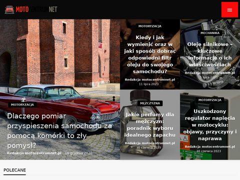 Sklep internetowy MotoCentrumNet.pl Chmielewscy - części samochodowe