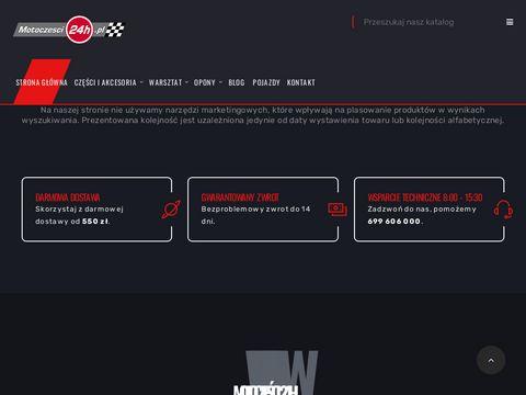 Cz臋艣ci motocyklowe i cz臋艣ci do skuter贸w - sklep motocyklowy