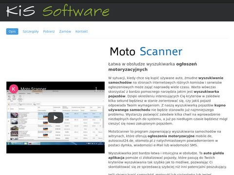 Moto Scanner - ogłoszenia motoryzacyjne