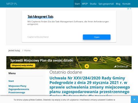 MPZP24.pl - sprawdź miejscowy plan zagospodarowania przestrzennego