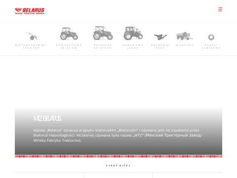 Traktory z Białorusi - mtzbelarus.pl
