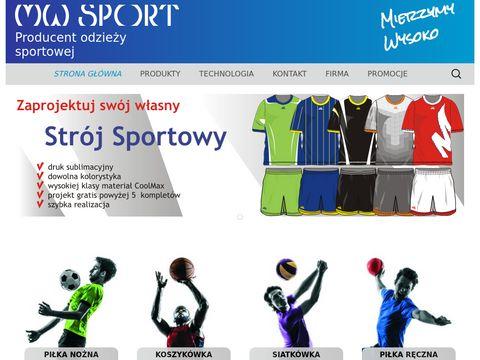 Odzież reklamowa - mw-sport.pl