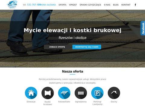 Mycie elewacji i kostki brukowej - Rzeszów