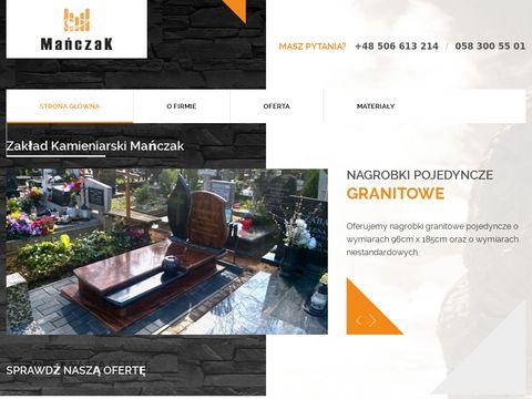Kamieniarstwo nagrobki Gdańsk | Zakład kamieniarski Gdańsk