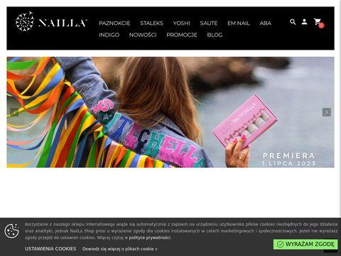 Sklep kosmetyczny - NailLa Shop