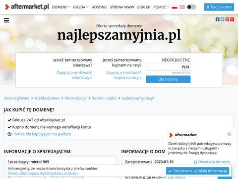 NajlepszaMyjnia.pl - Mobilna Myjnia Parowa