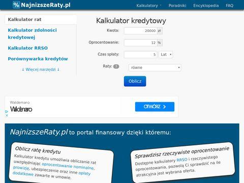 Portal finansowy najnizszeraty.pl