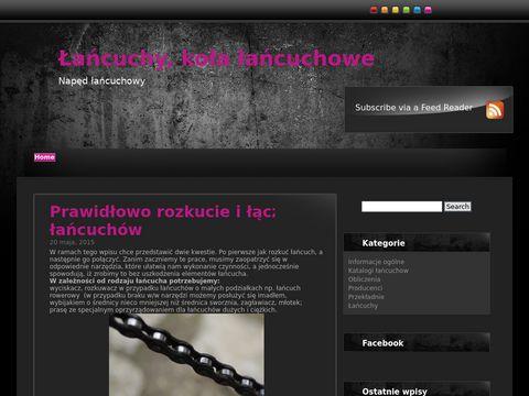 Naped-lancuchowy.pl - typy łańcuchów